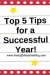 My Top 5 Tips for a Successful Year!