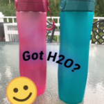 Thirsty?  Techy H2O Bottle to the Rescue!