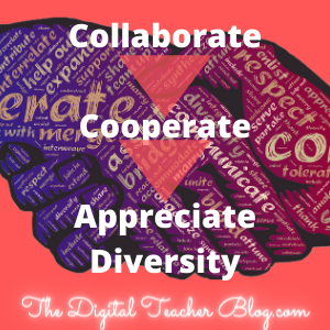 back to school, building community, diversity, collaborate, cooperate, first week of school