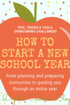 How to Start a New School Year Off Right!