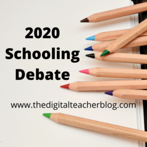 2020 education debate, online learning, at home learning, remote learning